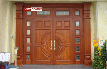 của gỗ tự nhiên, bền đẹp, cửa gỗ thời trang, cử gỗ giá rẻ