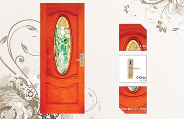 Cửa gỗ thời trang, cửa gỗ nhập khẩu, cửa gỗ tự nhiên