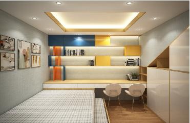 căn hộ, thiết kế nội thất, trang trí phòng ngủ, nhà ở