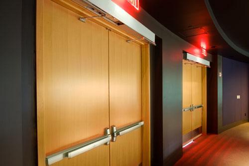 cửa gỗ, cửa gỗ chống cháy