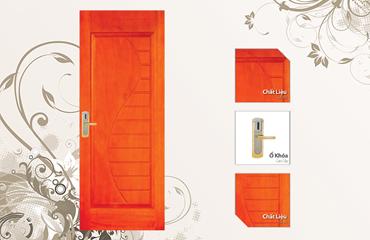 Cửa gỗ thời trang Prada, của gỗ hiện đại, cửa gỗ phong cách